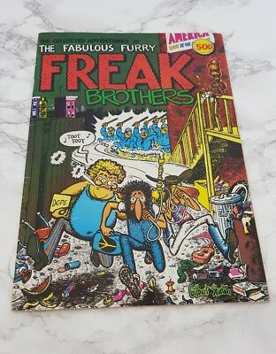 The Collected Adventures of Fabulous Furry Freak Brothers Original Issue 1 UK