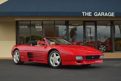 Ferrari 348 Spider 1995 Ferrari 348 Spider,9501 Mls,Full engine out service, Soft top is immaculate