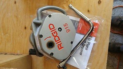 Ridgid 915 Roll Groover New In Box With Dies Model 88232