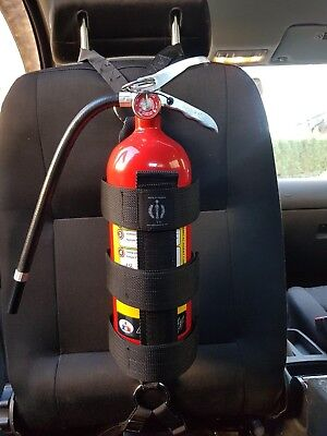 Fire Extinguisher Harness seat back, commercial grade