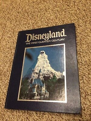 Disneyland The First Quarter Century 25th Anniversary Souvenir Book
