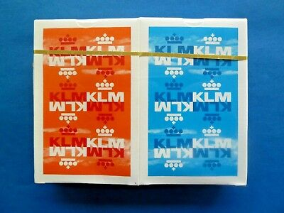 Vintage KLM Royal Dutch Airlines PLAYING CARDS Sealed Mint Condition Rare