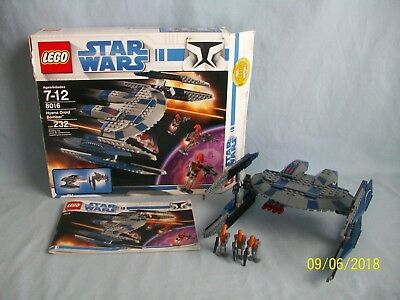 Lego Star Wars Hyena Droid Bomber 8016 99 Complete 2009 With