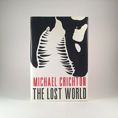 The Lost World by Michael Crichton First Edition 1995 1st Printing Jurassic Park