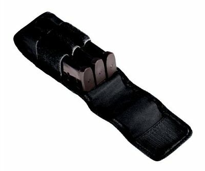 Tuff 3 Inline Double Stack Magazine Pouch, Size 2, Black - 7063-NYV-2