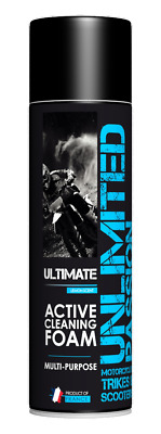 Unlimited Passion - Ultimate - foaming cleaner, dirt remover for bikes, cars