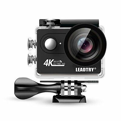 LeadTry HP7R Full 4K HD Action Camera Wifi, Mini 12MP Underwater Photography Cam