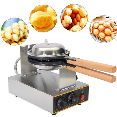 AUS 220V Electric Egg Oven Egg Waffle Maker Pancake Baking Nonstick Machine Tool