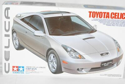 Toyota Celica Coupe Silber T23 1999-2005 24215 Kit Bausatz 1/24 Tamiya Modell ..