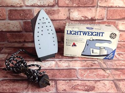 VINTAGE General Electric IRON. Original and working, original box & instructions