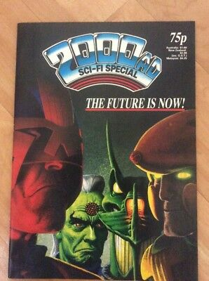 2000 AD comic Sci-Fi Special 1987 Judge Dredd Nemesis Strontium Dog - Good