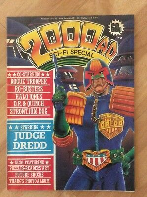 2000 AD comic Sci-Fi Special 1985 Judge Dredd Rogue Trooper Strontium Dog - Good