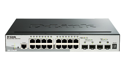 10Gbit - 10GbE - DLink Stackable Smart Managed Gigabit Switch DGS-1510-20