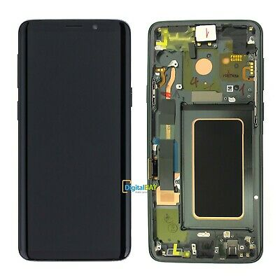 Lcd Display Schermo Touch SERVICE PACK Samsung per Galaxy S9 Plus G965 Titanio