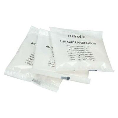 Original RESIN LIMESCALE FILTER CLEANING SOLUTION 3 X 33G For Delonghi 492994