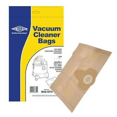 Replacement BAG9374 / 00 Dust Bag For Delonghi 484393