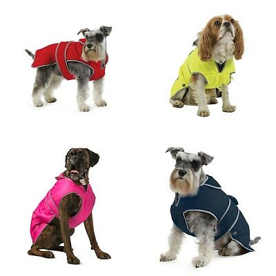 Ancol Muddy Paws Dog Puppy Coat All Weather Waterproof Reflective Winter Jacket