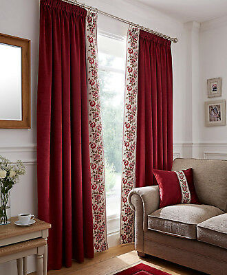 House of Bath Mackintosh Rose Thermal Lined Curtains 66x72in