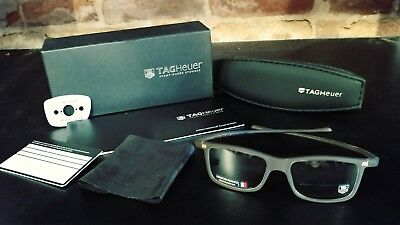 TAG HEUER Mens Eyeglass Frame TH 3051 004 49 15 140 TOD 06854 BRAND NEW