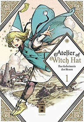 ATELIER OF WITCH HAT * Band 1 * Manga * Egmont * NEU * Bonus