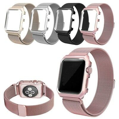 For Apple Watch Series 4 40/44mm Milanese Loop Strap Magnetic Stainless Band
