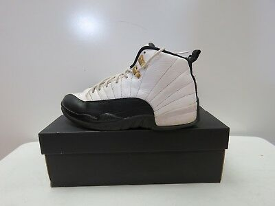 bfa3627586c Nike Air Jordan XII 12 Retro BLACK WHITE TAXI RED 130690-125 Size 8 i147K