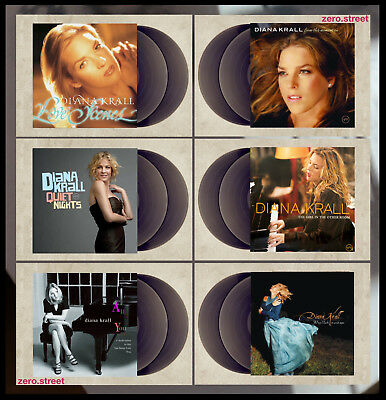DIANA KRALL Record Collection: Lot of 6 2xLP 180 GRAM ALBUMS New SEALED creases
