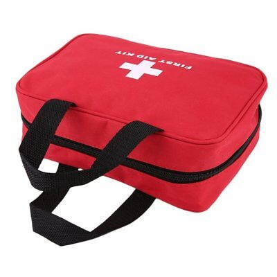 Portable Sports Camping Home Medical Emergency Survival First Aid Kit Bag NF
