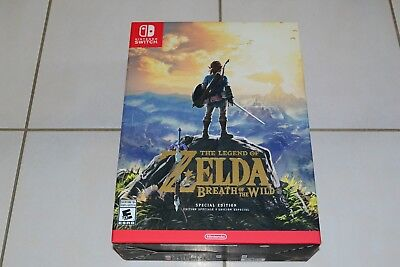 Legend of Zelda Breath of the Wild Special Edition Nintendo Switch Brand New