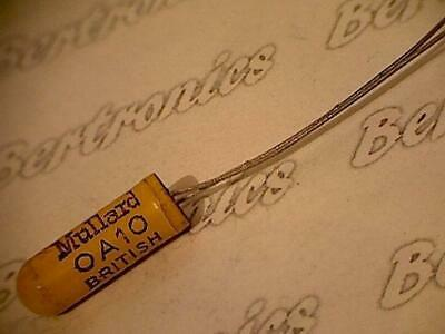 OA10  diode radial  orig. Mullard  yellow casea; a real historical vintage