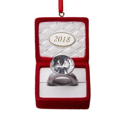 Hallmark Engagement Dated Ornament 2018