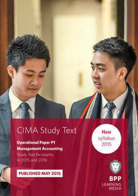 CIMA study text: CIMA operational paper P1, management accounting. Study text