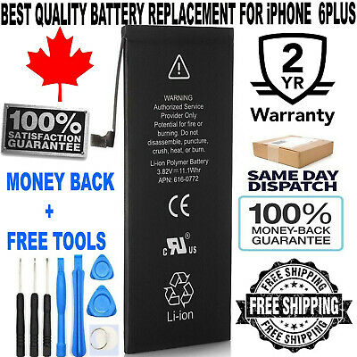 Brand New iPhone 6 PLUS Replacement Battery 616-0765 2915mAh with FREE TOOL KIT