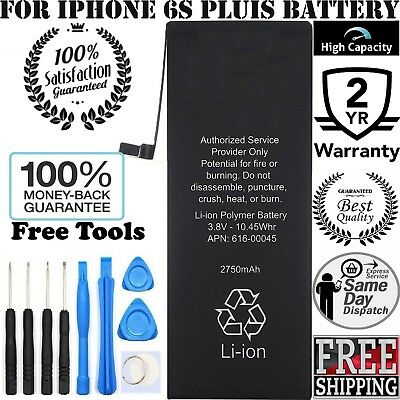 Brand New iPhone 6S PLUS Replacement Battery 616-00042 2750mAh & FREE TOOL KIT