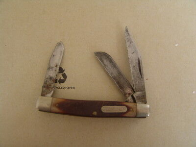 Schrade  Old Timer Usa  34Ot Middle Stockman..