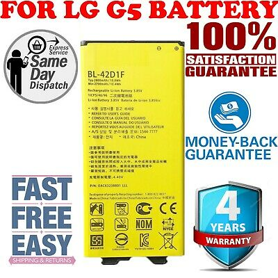 Brand New LG G5 Replacement Battery H820 H860 H868 H960 BL-42D1F 2800mAh