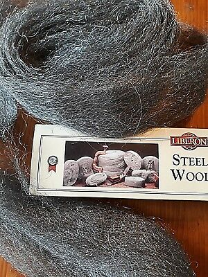 Liberon Steel Wire Wool NEW Top Quality  Grade 4  Various Lengths