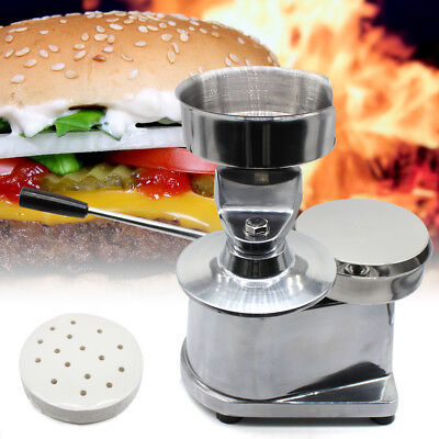MACCHINA PER HAMBURGER MANUALE Pressa hamburger Hamburgatrice 130 mm