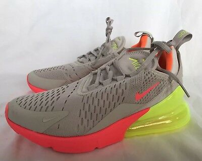new arrival c1a2f 2d9f3 ... closeout womens nike air max 270 shoes desert sand hot punch volight  ah6789 005 size 46aea