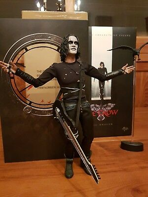 """THE CROW - der Rabe - Eric Draven 1/6 Action-Figur 12"""" Hot Toys MMS210"""