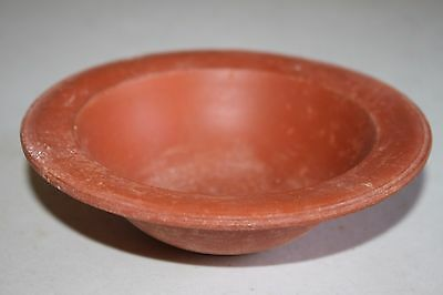 ANCIENT ROMAN POTTERY REDWARE BOWL 3/4th CENTURY AD