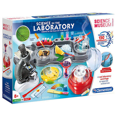 Clementoni Science Museum Science in the Laboratory Kit - 61756 - NEW