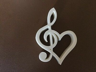16 Wedding Table Decorations, Heart, Music