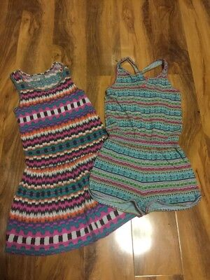 Girls Summer Playsuit And Dress Aged 7/8 Years Old