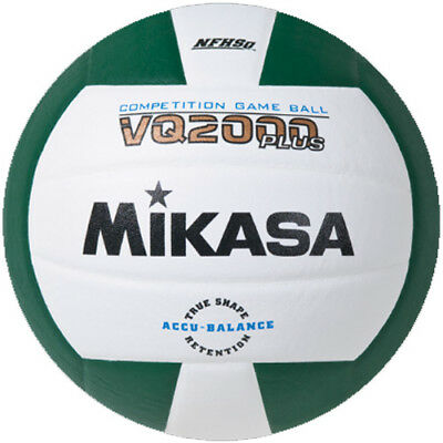 Mikasa VQ2000 Volleyball - Green/White