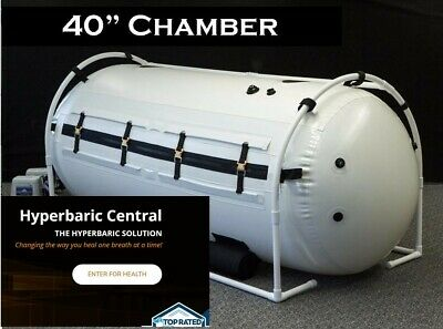 40 inch Grand Dive Hyperbaric Oxygen Chamber Attractive In-Home Gigantic Size