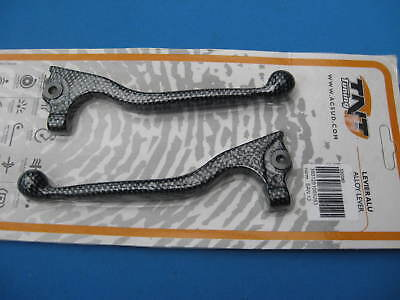 Peugeot Speedfight 50 Front & Rear Brake Lever Levers  ( Carbon Look )