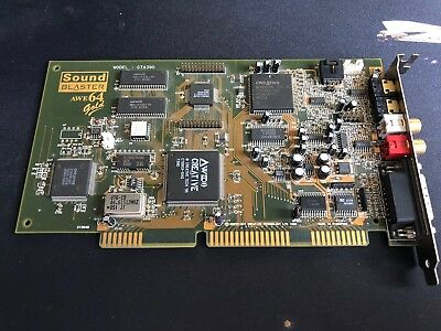 Creative Labs CT4390 Sound Blaster AWE64 Gold Sound Card Free P&P
