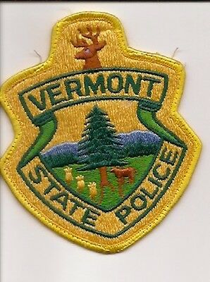 Usa- Vermont State Police Patch -Used