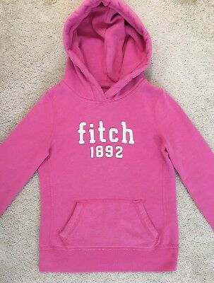 Abercrombie & Fitch Kids Girl's Pink Hoodie Jumper Size Medium